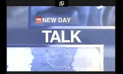 Interviewed by CNN Talk New Day
