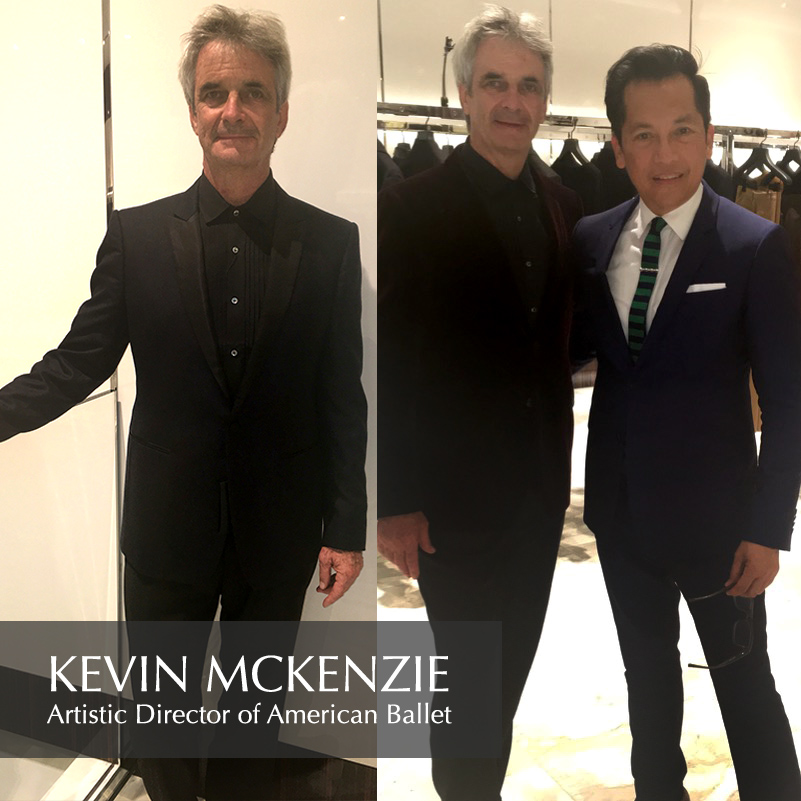 With Kevin McKenzie, Artistic Director of American Ballet