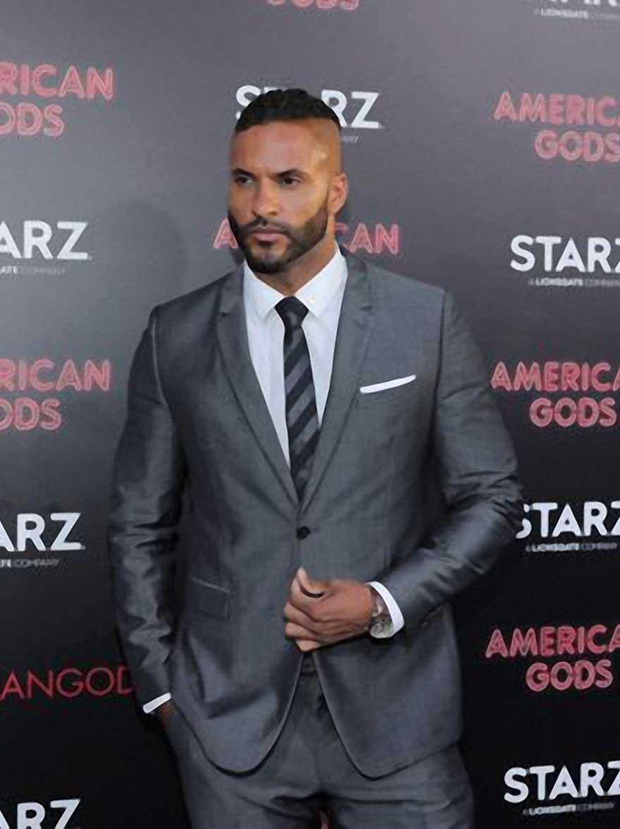 Ricky Whittle, actor (American Gods TV Series)